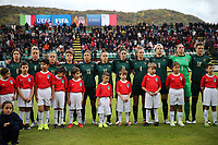Italy Team line-up <br /> Castel di Sangro 12-11-2019 Stadio Teofolo Patini <br /> Football UEFA Women's EURO 2021 <br /> Qualifying round - Group B <br /> Italy - Malta<br /> Photo Cesare Purini / Insidefoto