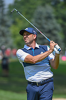 Sergio Garcia (ESP) hits his approach shot on 2 during 4th round of the World Golf Championships - Bridgestone Invitational, at the Firestone Country Club, Akron, Ohio. 8/5/2018.<br /> Picture: Golffile | Ken Murray<br /> <br /> <br /> All photo usage must carry mandatory copyright credit (© Golffile | Ken Murray)