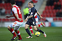 James Dunne of Stevenage on the attack. Rotherham United v Stevenage - FA Cup 1st Round - New York Stadium, Rotherham - 3rd November 2012. © Kevin Coleman 2012.