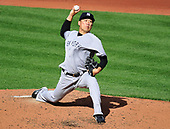 New York Yankees starting pitcher Masahiro Tanaka (19) pitches in the second inning against the Baltimore Orioles at Oriole Park at Camden Yards in Baltimore, MD on Saturday, April 8, 2017.<br /> Credit: Ron Sachs / CNP<br /> (RESTRICTION: NO New York or New Jersey Newspapers or newspapers within a 75 mile radius of New York City)
