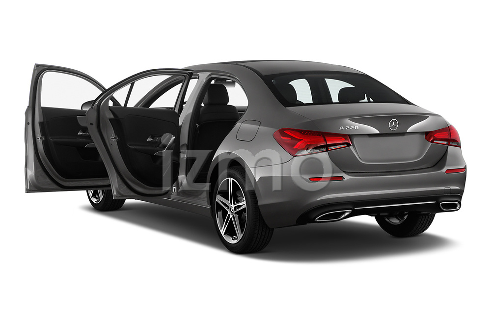 Car images of 2019 Mercedes Benz A-Class-Sedan A-220 4 Door Sedan Doors