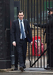 Day before the Budget 2013.George Osborne outside Downing Street today 19.3.13.....Pic by Gavin Rodgers/Pixel 8000 Ltd