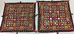 ATK-180  ANTIQUE RJPUT EMBRODIERY CHAAKLA PAIR