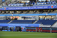 20190608 - REIMS , FRANCE : illustration pictured during the female soccer game between Norway – the Grashoppene - and Nigeria – The Super Falcons - , the first game for both teams in group A during the FIFA Women's  World Championship in France 2019, Saturday 8 th June 2019 at the Auguste Delaune Stadium in Reims , France .  PHOTO SPORTPIX.BE | DIRK VUYLSTEKE