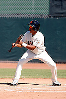 Ehire Adrianza -San Francisco Giants 2009 Instructional League. .Photo by:  Bill Mitchell/Four Seam Images..