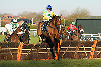 Winner of The I E P Financial Novices' HurdleAdicci ridden by Jonjo O'Neil Jnr and trained by Jonjo O'Neill  during Horse Racing at Plumpton Racecourse on 2nd December 2019