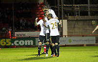 Capital One League Cup, Third Round, Crawley Town (red) V Swansea City (white) , 25/09/12. <br /> Pictured: Michu celebrates his goal<br /> Picture by: Ben Wyeth / Athena Pictures<br /> info@athena-pictures.com<br /> 07763671695
