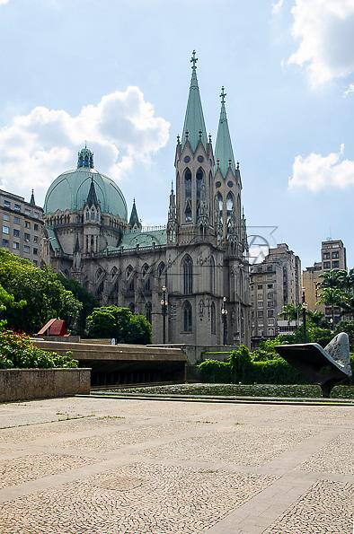 Catedral Metropolitana de São Paulo - Catedral da Sé, São Paulo - SP, 01/2013.