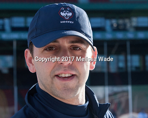 Joe Pereira (UConn - Assistant Coach) - The UConn Huskies practiced at Fenway on Friday, January 13, 2017, in Boston, Massachusetts.