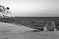 Castro Marina - Salento - Puglia - Vista della banchina del porto.