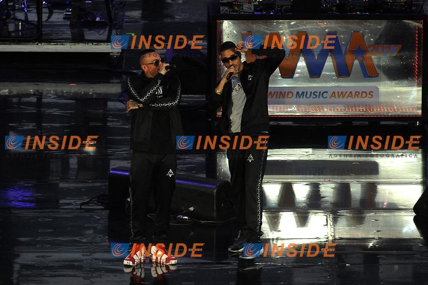Marracash E Gue' Pequeno<br /> Verona 05-06-2017 Arena <br /> Wind Music Awards 2017 <br /> Foto Alberto Anello/Photoring/Insidefoto