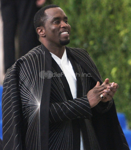 NEW YORK, NY May 01, 2017 Sean Combs  attend  The Metropolitan Museum of Art Costume Institute Benefit Gala for Rei Kawakubo Comme des Garcons at  Metropolitan Museum of Art  in New York May 01,  2017. Credit:RW/MediaPunch