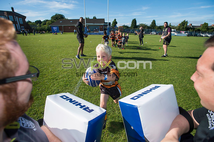 Picture by Allan McKenzie/SWpix.com - 03/07/2017 - Commercial - Rugby League - Dacia Community Event FlairPlay - Hull, England - Dacia FlairPlay at Hull.