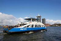 Nederland Amsterdam 2016 . IJveer 52 van Amsterdam Centrum naar Amsterdam Noord. Foto Berlinda van Dam / Hollandse Hoogte