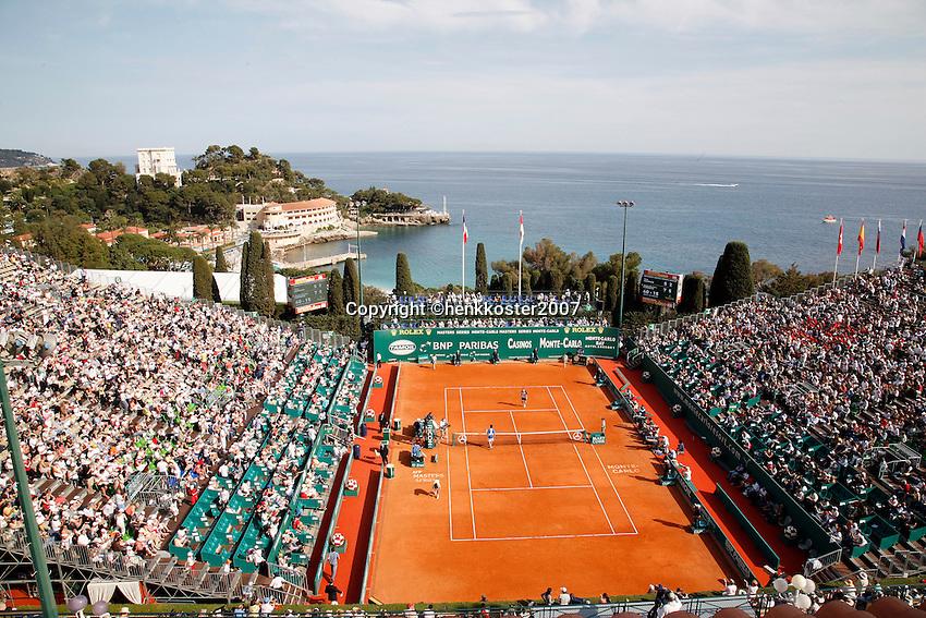 16-4-07, Monaco,Master Series Monte Carlo, Centre Court