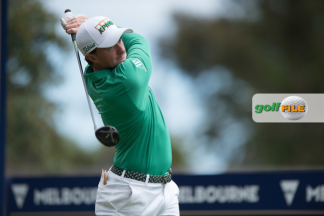 Paul Dunne (IRL) during the final round of the World Cup of golf,  The Metropolitan Golf Club, The Metropolitan Golf Club, Victoria, Australia. 25/11/2018<br /> Picture: Golffile | Anthony Powter<br /> <br /> <br /> All photo usage must carry mandatory copyright credit (© Golffile | Anthony Powter)