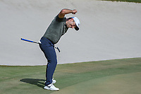 Francesco Molinari (ITA) reacts to his birdie putt for the win on 18 going down during round 4 of the Arnold Palmer Invitational at Bay Hill Golf Club, Bay Hill, Florida. 3/10/2019.<br /> Picture: Golffile | Ken Murray<br /> <br /> <br /> All photo usage must carry mandatory copyright credit (© Golffile | Ken Murray)