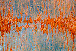 Columbia River Gorge, Oregon, paint abstract