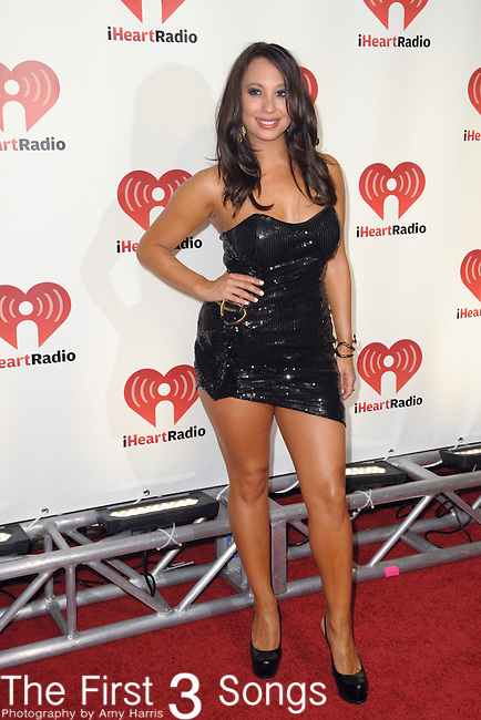Cheryl Burke attends the 2011 iHeartRadio Music Festival on September 24, 2011 at the MGM Grand Garden Arena in Las Vegas, Nevada.