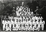June, 1936, Japan - Imperial Japanese Naval Academy was a school established to train officers for the Imperial Japanese Navy. (Photo by Kingendai Photo Library/AFLO)
