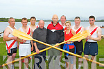 The Workmans Junior Mens crew that won at the Killarney Regatta on Monday evening front row l-r: Timmy Moynihan, Michael Sweeney, Mike Quirke, Kevin Tangney, Brendan Heffernan, Bernard Sweeney, Deirdre O'Donoghue, Anthony McCarthy and Kieran Counihan