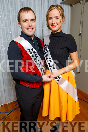 """Christopher and Claire McDonald ready to dance at the Tralee Musical Society """"Strictly Come Dancing"""" Mr and Mrs in Ballyroe Heights Hotel on Saturday"""