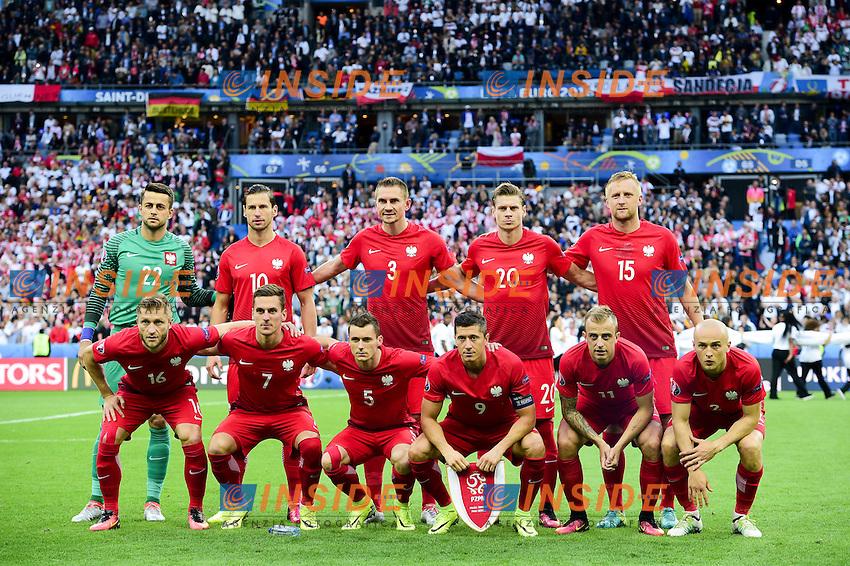Formazione Polonia Team Poland Line Up <br /> Paris 16-06-2016 Stade de France Football Euro2016 Germany - Poland / Germania - Polonia Group Stage Group C. Foto JB Autissier / Panoramic / Insidefoto