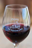 Europe/France/Midi-Pyrénées/12/Aveyron/Coubisou: Dégustation  - AOC Estaing à la Maison de la Vigne, du Vin  et des paysages d'Estaing