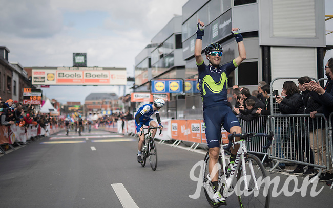 Alejandro Valverde (ESP/Movistar team) wins his 4th 'Doyenne'<br /> <br /> 103rd Li&egrave;ge-Bastogne-Li&egrave;ge 2017 (1.UWT)<br /> One Day Race: Li&egrave;ge &rsaquo; Ans (258km)