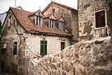MONTENEGRO, Bay of Kotor, Old Homes in old town Kotor,  Ben M Thomas