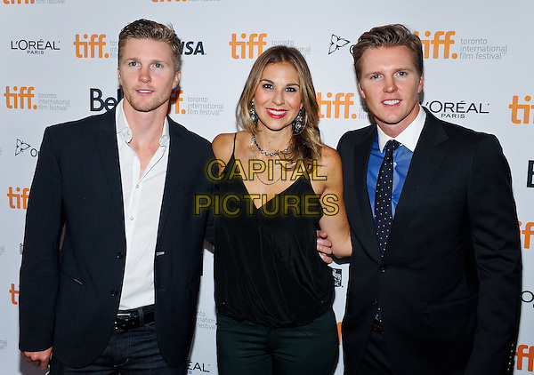 07 September 2014 - Toronto, Canada - Thad Luckinbill, Molly Smith, Trent Luckinbill<br /> . &quot;The Good Lie&quot; Premiere during the 2014 Toronto International Film Festival held at the Winter Garden Theatre.  <br /> CAP/ADM/BPC<br /> &copy;Brent Perniac/AdMedia/Capital Pictures