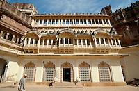 in der Festung, Jodhpur (Rajasthan), Indien