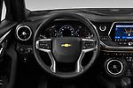 Car pictures of steering wheel view of a 2020 Chevrolet Blazer Premier 5 Door SUV Steering Wheel