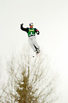 14 January 2005 - Lake Placid, New York, USA - Ales Valenta from the Czech Republic competes in the FIS World Cup Aerial acrobatic competition at the MacKenzie-Intervale Ski Jumping Complex, in Lake Placid, NY. Valenta ended the days' event in 25th spot after a weather induced one-jump competition...Mandatory Credit: Ed Wolfstein Photo.