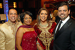 Sam and Omana Abraham with Nidhika and Pershant Mehta at the Houston Symphony Ball at the Hilton Americas Houston Friday Feb. 27, 2009. (Dave Rossman/For the Chronicle)