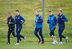 30.11.2018 Rangers training: Ryan Jack, Scott Arfield, Glenn Middleton and Joe Worrall