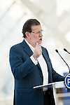 Prime ministre Mariano Rajoy during the PP electoral program presentation for the Spanish Generals elections in Valencia. November 28, 2015. (ALTERPHOTOS/Javier Comos)