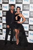 Actor Hugo Silva and Megan Montaner pose at `Dioses y perros´ film premiere photocall in Madrid, Spain. October 07, 2014. (ALTERPHOTOS/Victor Blanco) /nortephoto.com