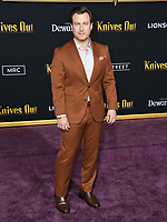 "14 November 2019 - Westwood, California - Noah Segan. ""Knives Out"" Los Angeles Premiere held at Regency Village Theater. Photo Credit: Birdie Thompson/AdMedia"