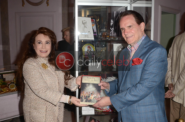 """Rich Little, Donelle Dadigan<br /> at Rich Little's signing of  """"People I've Known and Been: Little by Little,"""" honoring George Burns, Johnny Carson and Dean Martin with a display at the Hollywood Museum of the props he has used to impersonate them over the years, The Hollywood Museum, Hollywood, CA 06-01-18<br /> David Edwards/DailyCeleb.com 818-249-4998"""