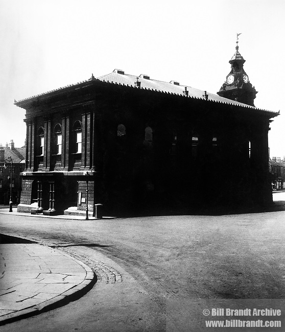 Burslem Town Hall, 1940s