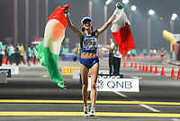 Sport Bilder des Tages 190929 -- DOHA, Sept. 29, 2019 -- Eleonora Anna Giorgi of Italy celebrates after the women s 50km race walk at the 2019 IAAF World Championships in Doha, Qatar, Sept. 29, 2019.  SPQATAR-DOHA-IAAF WORLD ATHLETICS CHAMPIONSHIPS-WOMEN S 50KM RACE WALK JiaxYuchen PUBLICATIONxNOTxINxCHN<br /> Doha 28/09/2019 <br /> Mondiali Atletica Leggera <br /> Photo Imago / Insidefoto <br /> ITALY ONLY