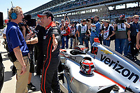 Verizon IndyCar Series<br /> Indianapolis 500 Carb Day<br /> Indianapolis Motor Speedway, Indianapolis, IN USA<br /> Friday 26 May 2017<br /> Pit-Stop Competition winner Will Power, Team Penske Chevrolet<br /> World Copyright: F. Peirce Williams