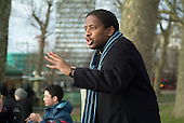 A Christian preacher at Speakers' Corner in Hyde Park, London.