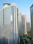 Skyscrapers in the Shinjuku ward of Tokyo, Japan.