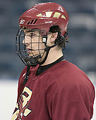 Brian Boyle - The Boston College Eagles practiced on Wednesday, April 5, 2006, at the Bradley Center in Milwaukee, Wisconsin, in preparation for their 2006 Frozen Four Semi-Final game against the University of North Dakota.