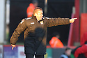 Stevenage manager Graham Westley<br />  - Stevenage v Stourbridge - FA Cup Round 2 - Lamex Stadium, Stevenage - 7th December, 2013<br />  © Kevin Coleman 2013