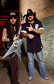 Damageplan: Dimebag Darrell Abbott: Studio Session: 2004:.Photo Credit: Eddie Malluk/AtlasIcons.com
