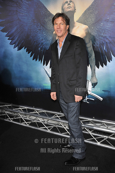 """Dennis Quaid at the world premiere of his new movie """"Legion"""" at the Cinerama Dome, Hollywood..January 21, 2010  Los Angeles, CA.Picture: Paul Smith / Featureflash"""