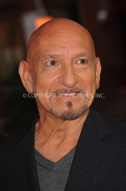 WWW.ACEPIXS.COM . . . . . ....August 17 2009, New York City....Actor Ben Kingsley arriving at The Cinema Society & Hugo Boss screening of 'Inglourious Basterds' at the SVA Theater on August 17, 2009 in New York City.....Please byline: KRISTIN CALLAHAN - ACEPIXS.COM.. . . . . . ..Ace Pictures, Inc:  ..tel: (212) 243 8787 or (646) 769 0430..e-mail: info@acepixs.com..web: http://www.acepixs.com